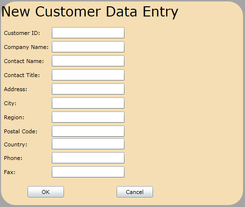 customer data entry Get free excel workbook with data entry form enter data on one sheet, click  button to move data to storage sheet update or add new data.